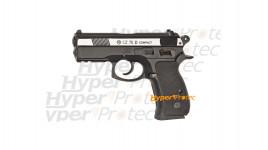 CZ 75D Compact culasse nickel - pistolet à billes acier 4.5 mm