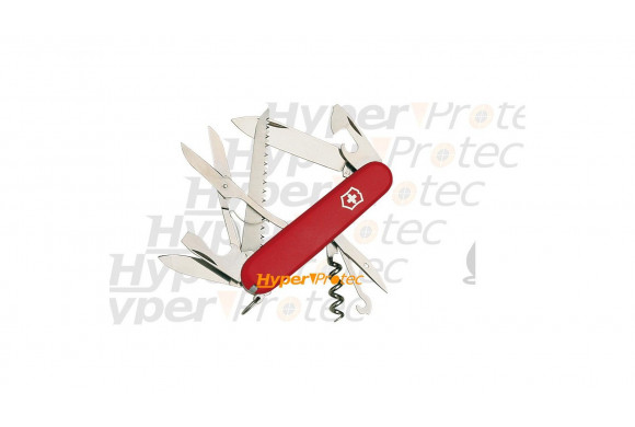 Couteau Suisse Victorinox - Huntsman rouge 15 outils