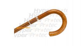 Canne épée poignée en jonc bâton en stamina marron clair