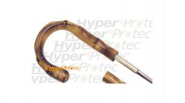 Canne épée poignée courbe genre bambou - 94 cm
