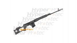 Couteau ZT en Elmax Liner lock plaquettes alu noires - 19 cm