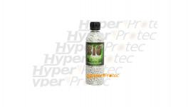 3000 billes biodégradables 0.20g blanches en bouteille - ASG