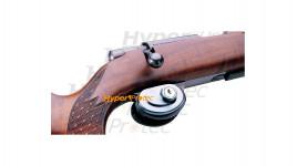 Verrou de pontet chromé à clef pour sécuriser une arme