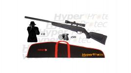 Pack Gamo Varmint Stalker DLX +lunette +silencieux +accessoires 20 j