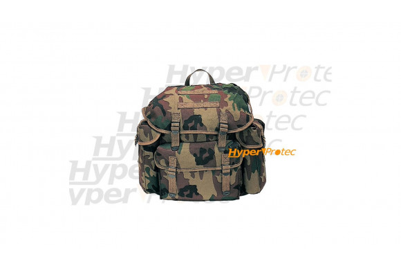 Sac à dos chasseur alpin - Camouflage 25 litres