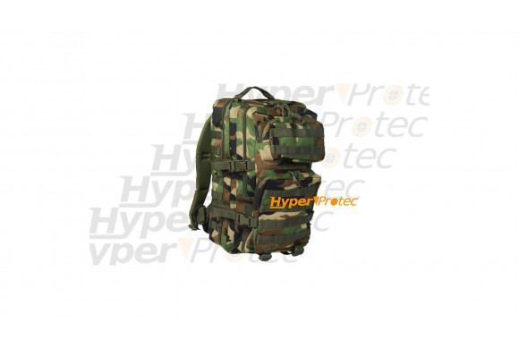 Sac à dos airsoft paintball - Woodland - 50 litres