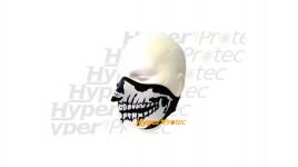 Bas de masque de protection néoprène tête de mort