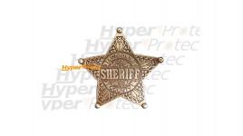 Broche étoile de Sheriff - Lincoln Country