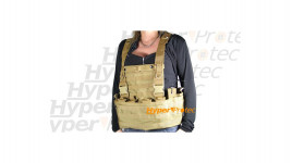 Gilet tactical Tan Coyote Swiss Arms Système Molle