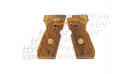 Jeu de plaquettes bois pour Beretta 92 à plombs