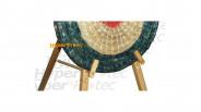 Chevalet de tir en bois trépied pour tir de loisir - 1.60 mètre
