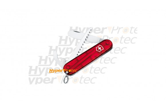 Couteau Suisse - My First Victorinox rouge - 10 outils
