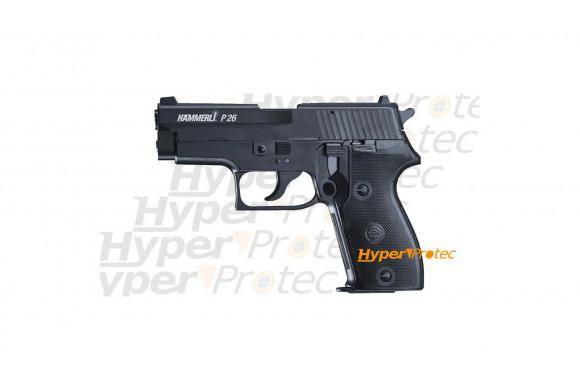 Colt M45 CQBP  blowback full métal semi-auto - Pistolet à billes acier 4.5
