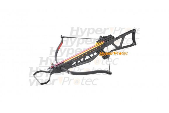 Arbalète tacticale noire fibre de verre 120 livres