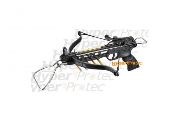 Pistolet arbalète 80 Lbs tout aluminium crossbow puissant