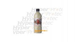 6000 billes 0.20g blanches en bouteille - Devil
