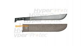 Machette et scie pour élaguer - 60 cm avec étui rigide