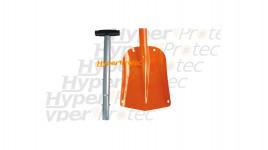 Pelle démontable avec poignée et sac de transport - 83 cm