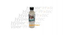 3000 billes 0.25g blanches bio en bouteille - Open Blaster
