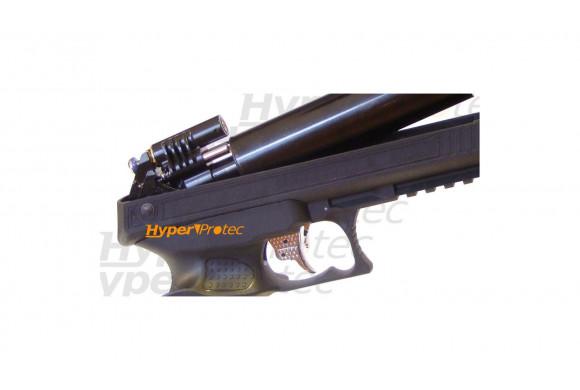 Revolver alarme titan brillant Desintegrator 6 pouces - 9 mm