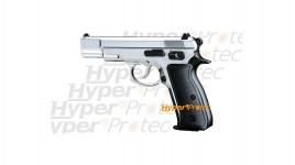 Pistolet CZ 75 alarme 9 mm - chromé Chiappa