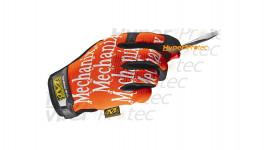 Gants Mechanix Original - Orange écriture blanche - XXL