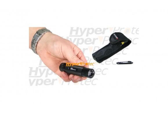 Lampe étanche Led Lenser V² noire + 3 piles AAA + étui