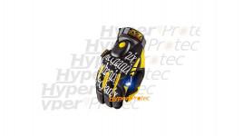 Gants Mechanix Wear jaunes avec lampe intégrée - Taille XXL