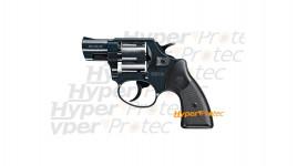 Revolver Reck Eagle noir crosse noire - alarme 9 mm