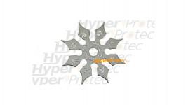 Shuriken étoile de ninja 8 pics métal - 11 cm