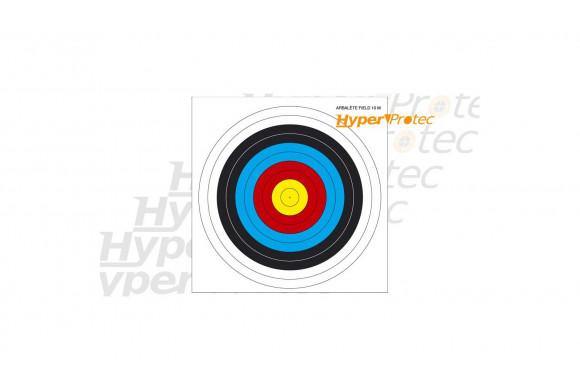 5 blasons cibles 27x27 cm pour du tir arbalète