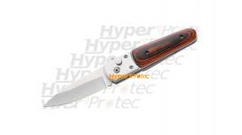 Couteau automatique plaquettes en bois