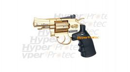 Revolver Dan Wesson Or Gold 2.5 pouces - billes acier 4.5 mm