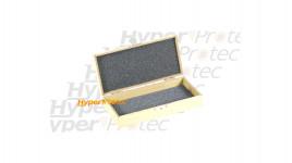 Jolie boîte en bois pour couteau - 17 cm