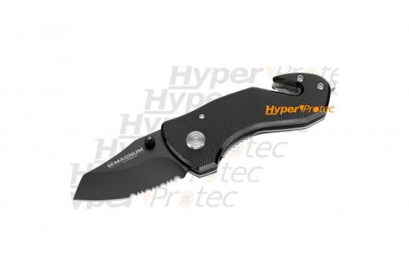 Petit couteau Black Rescue avec brise glace