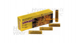 20 fusées tourbillon doré étoile bleue 15 mm