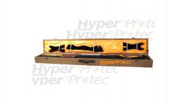 Katana acier forgé main - Saya Bambou Vernis 106 cm