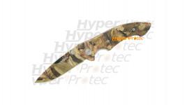 Couteau Virginia tout camouflage - 19.5 cm - NSFP