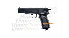 Browning Hi Power Mark III réplique à billes acier 4.5 mm et CO2