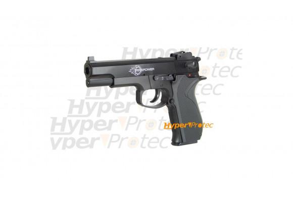 Pistolet airsoft culasse métal Fire Power Pistol .45