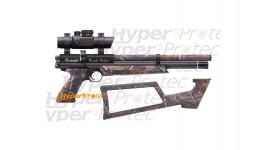 Pistolet PCP Benjamin Woods Walker 5.5 mm + viseur 20 joules