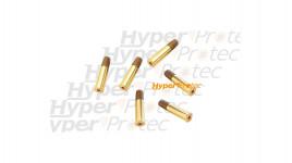 6 cartouches douilles pour Smith & Wesson 327 TRR8 billes acier