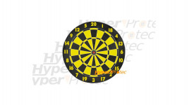 Cible Darts réversible pour tir air comprimé - 20 cm