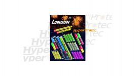 50 fusées London diverses pour arme alarme
