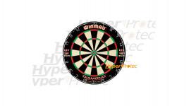 Cible Darts Diamond Plus 45 cm pour jouer aux fléchettes - Winmau