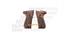 Jeu de plaquettes bois pour Walther CP 88 à plombs