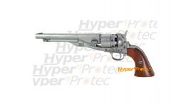 Revolver de collection Denix 1886 - finition chromé crosse bois