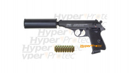 Pack Walther PPK - Pistolet Alarme