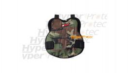 Plastron camouflage de poitrine pour paintball