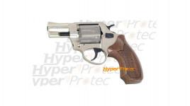 RG 89 nickel crosse bois - revolver 9 mm alarme